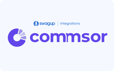 Commsor X SwagUp: The Best Way to Do Community Swag