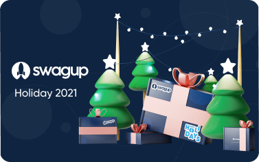 Introducing the 2021 SwagUp Holiday Catalog ☃️